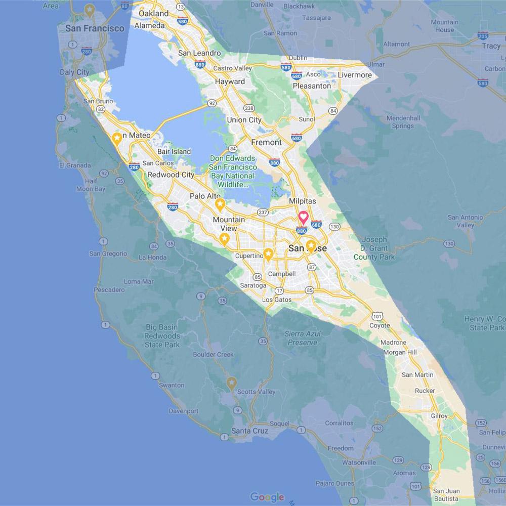Serving San Jose & Surrounding Areas